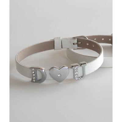 bracelet prenom personnalis avec lettre de a z. Black Bedroom Furniture Sets. Home Design Ideas