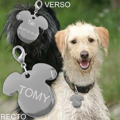 Medaille gravure chien