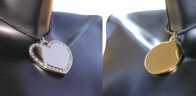 Bijoux personnalisés gravés à partir de 14,90€
