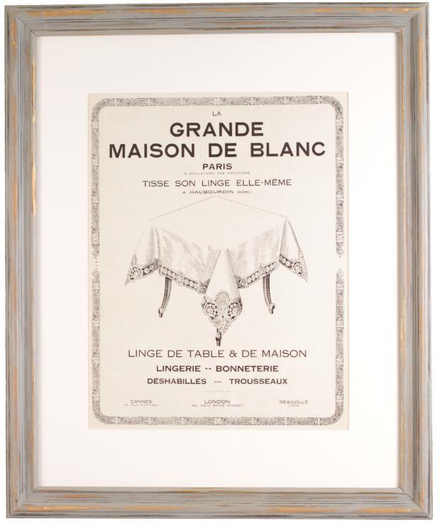 MAISON DE BLANC 1