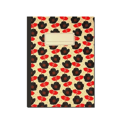 CAHIER A5 MOTIF COQUELICOTS