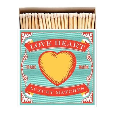 BOITE GRANDES ALLUMETTES LOVE HEART