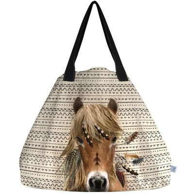 SAC TOTE BAG GEANT CHEVAL WAPI