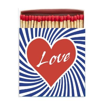 BOITE GRANDES ALLUMETTES LOVE