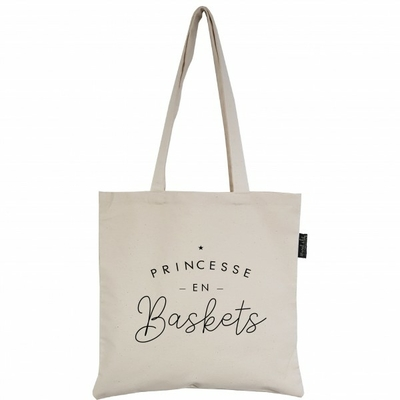 SAC TOTE BAG PRINCESSE EN BASKETS
