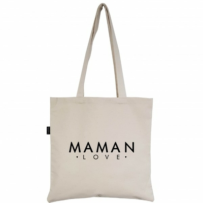 SAC TOTE BAG MAMAN LOVE