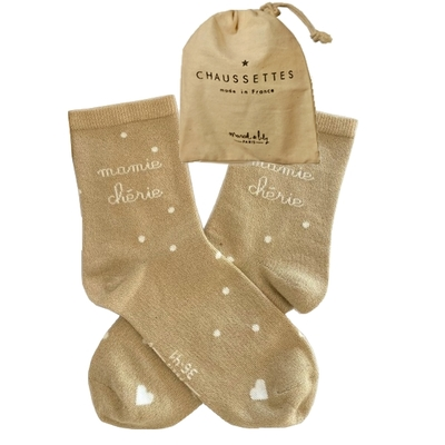 CHAUSSETTES MAMIE CHERIE