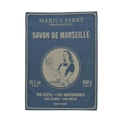 TORCHON COTON SAVON DE MARSEILLE