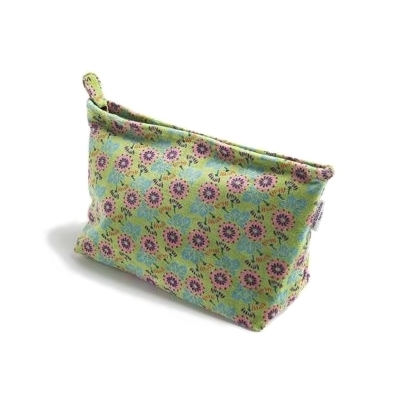TROUSSE DE TOILETTE VELOURS MOTIF OAK LIME