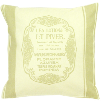 COUSSIN SERIGRAPHIE LT PIVER BEIGE