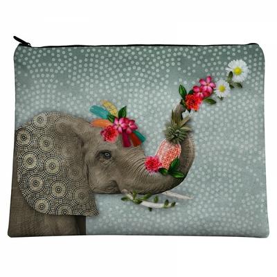 GRANDE POCHETTE ELEPHANT HELLO