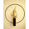 HISTOIRE DAVANTSUSPENSION VASE FER FORGE GRAND MODELE 2