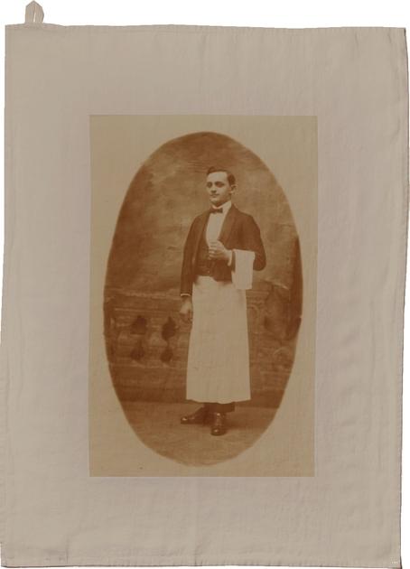 HISTOIRE DAVANT TORCHON GARCON DE CAFE GRIS
