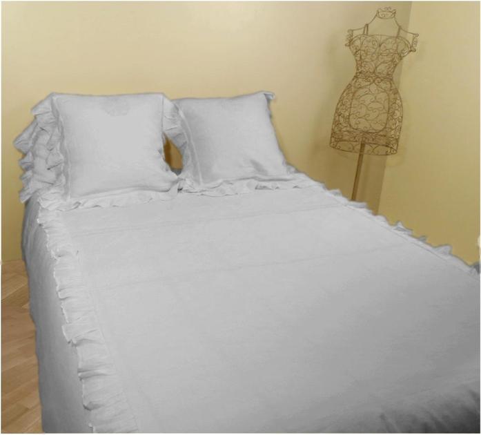 housse de couette gris clair housse de couette lin stone. Black Bedroom Furniture Sets. Home Design Ideas
