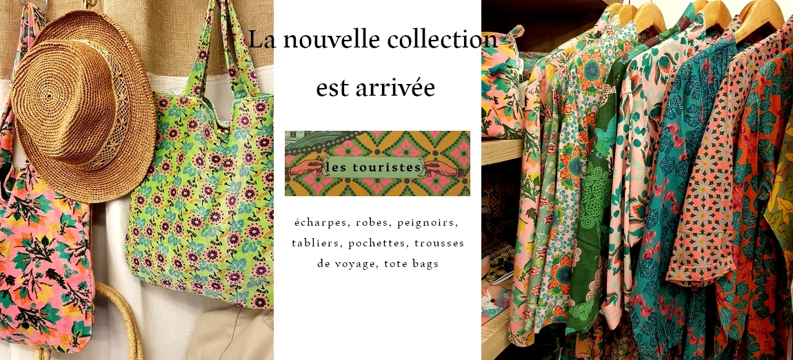 NOUVELLE COLLECTION LES TOURISTES