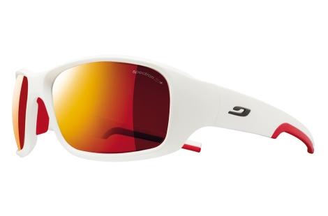 lunettes julbo Stunt blanc rouge