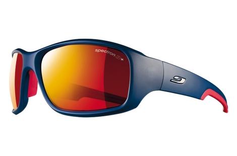 lunettes de sport julbo Stunt Bleu Rouge