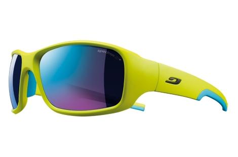 lunettes de velo julbo Stunt vert bleu