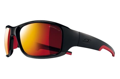 lunettes de trail julbo Stunt noir rouge
