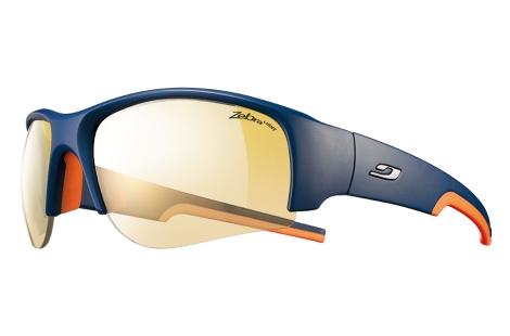 lunettes julbo Dust bleu-orange zebra light