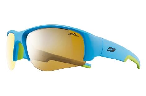 lunettes solaire julbo Dust bleu-vert zebra