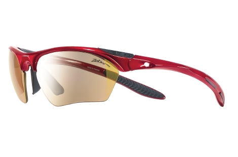 lunettes julbo Trail Rouge zebra