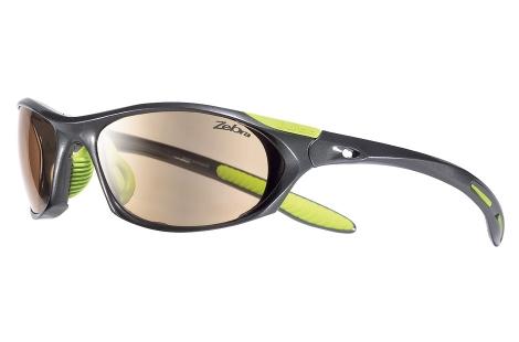 lunettes julbo Race asphalte anis