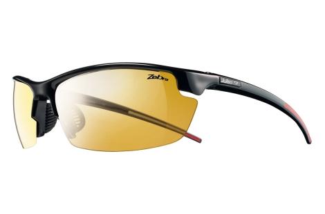 lunettes julbo Tracks noir-rouge