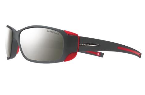 lunette julbo MonteBianco noir et rouge