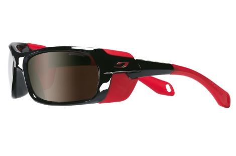 lunettes julbo bivouak rouge noir