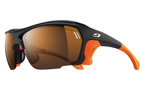 lunettes julbo TREK noir orange cameleon photochromique polarisant