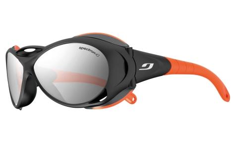 lunettes très couvrante julbo Explorer noir-orange