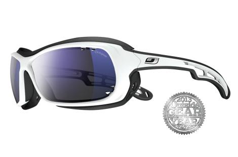 lunettes julbo Wave blanc-noir flottante