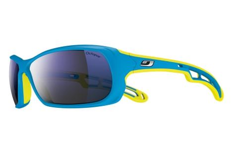 lunette julbo Swell bleu jaune couleur asm