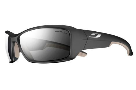 lunettes pour trail running julbo Run noir gris