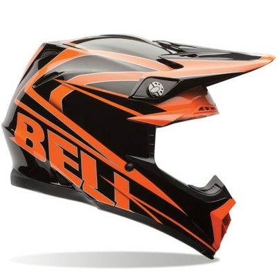 BELL MOTO 9 Tracker orange