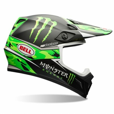 BELL MX 9 Pro circuit replica camo green