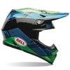 BELL MOTO 9 Stance blue green