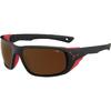 Jorasses L_Black Red Matte-Zone Brown Cat.4 Silver AF-01
