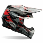 BELL MOTO 9 Camo red