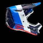 100% AIRCRAFT MIPS R8 Bleu Carbon