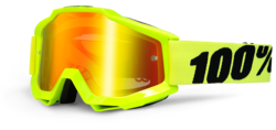 FLUO YELLOW MIRROR