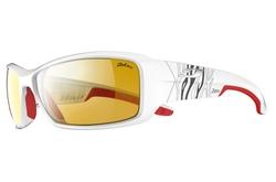 lunettes julbo Run blanc rouge