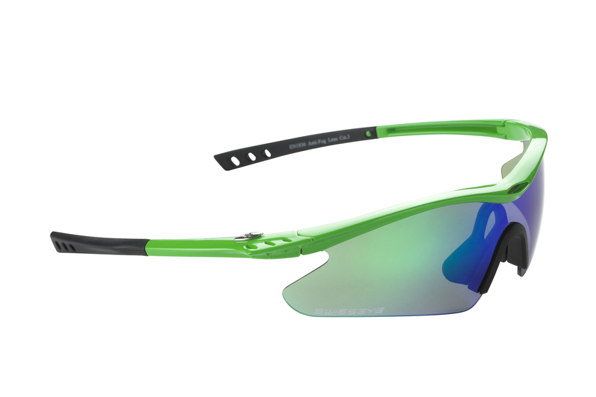 lunettes swiss eye f 16 flash vert lunettes de trail running velo. Black Bedroom Furniture Sets. Home Design Ideas