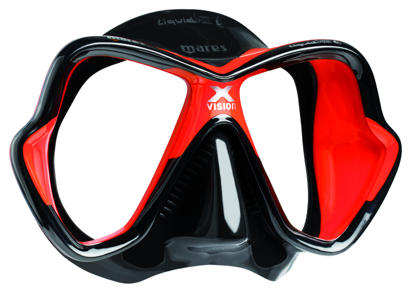 X VISION liquidskin 2ème génération - noir rouge - demetz