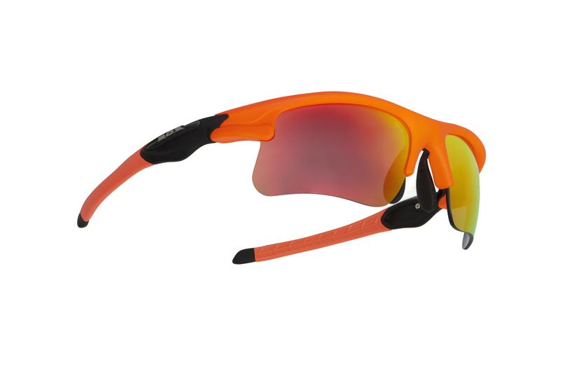BIKE STAR orange fluo et noir  - Demetz