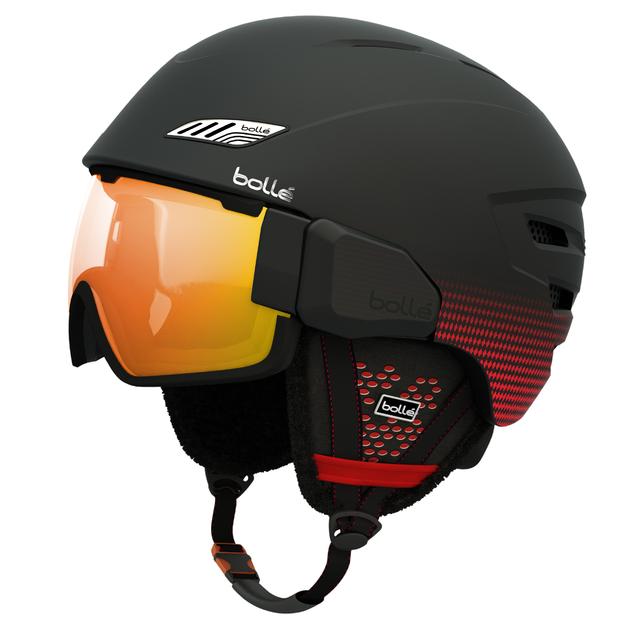 OSMOZ SOFT BLACK & RED