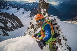 Lunettes de soleil d'alpinisme