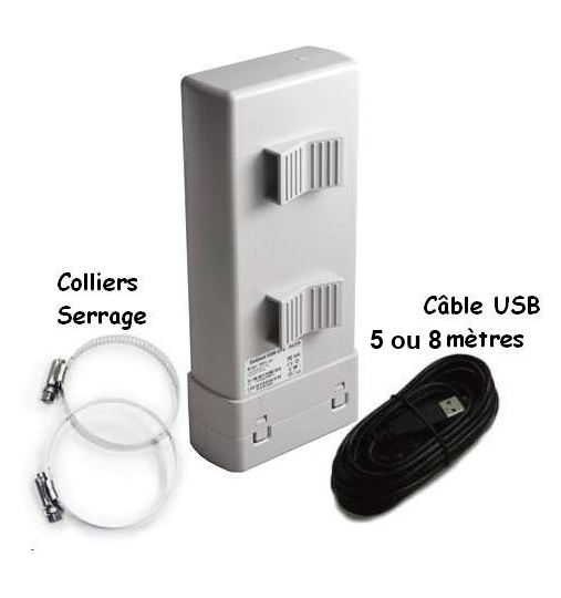 Antenne usb pour capter hotspot wifi antenne hotspot wifi antennes wifi achat au magasin - Antenne wifi usb longue portee ...