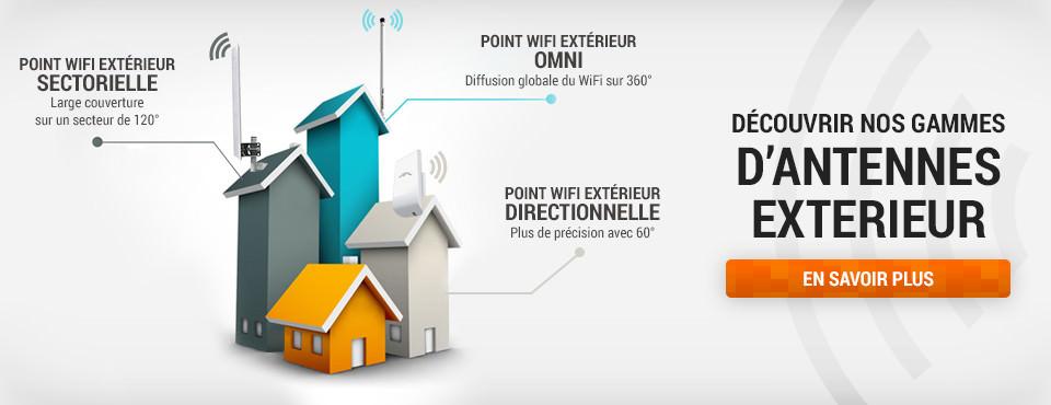 point d'accès wifi extérieur